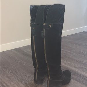 Vince Camuto tall black boots